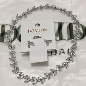 David's Bridal cubic zirconia stone set